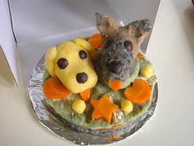 犬用ジャガケーキ!