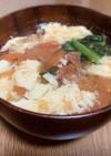 鉄分たっぷり玉子スープ