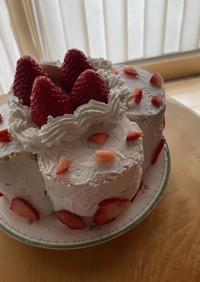 簡単ホールケーキ