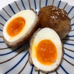しゃぶしゃぶ用豚肉で簡単!肉巻き卵!