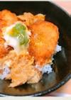 兵四郎でぷりぷり海老カツの卵とじ丼!