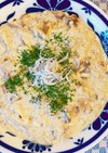 簡単!しらすと舞茸の豆乳チーズリゾット