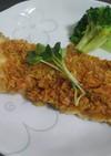 トースターで簡単! 鱈のカレーパン粉焼き