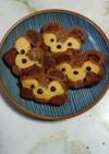 ダッフィーのアイスボックスクッキー