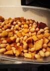さつまいもと大豆の甘辛煮
