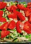 簡単キノコとトマトのマリネ