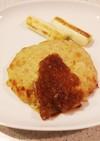 【節カロ】玉ねぎたっぷり豆腐ハンバーグ