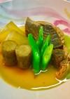 No2415鮪血合い肉と根菜とおでん風