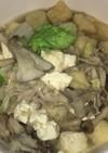 豚バラと茸と白菜のみぞれ煮