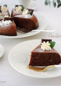 炊飯器de<簡単>チョコバナナケーキ