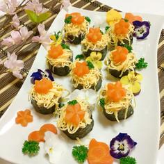 簡単☆ちらし寿司アレンジ