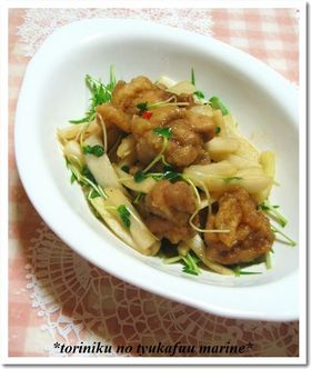 ♡鶏肉の中華風マリネ♡