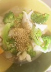 全てレンジ胸肉根菜の梅干し味噌蒸し煮