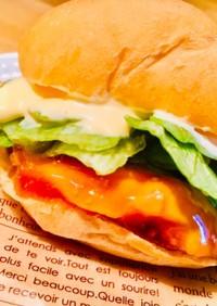 マックの♡テリヤキサラダチキンバーガー♡