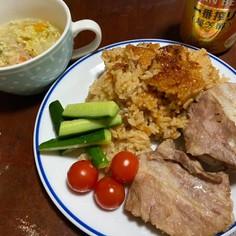 炊ける前から旨い!豚バラ肉の炊き込みご飯