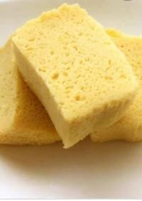 ラカント無しの低糖質おから蒸しパン