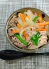 超簡単!豚野菜丼!ウェイパー&マキシマム