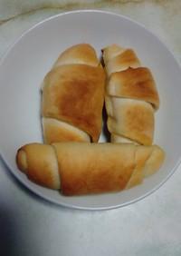 カリッもちっジュワ~塩バターロールパン