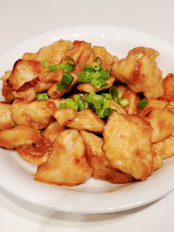 ダイエットメニュー!鶏むね肉の生姜焼き