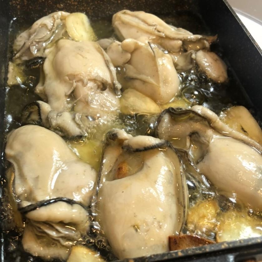 【簡単・時短・おつまみ】牡蠣のアヒージョ
