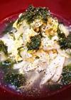 鶏ささみと新玉ねぎの簡単♪かき玉スープ