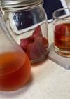 宅飲み♡いちごの漬け酒