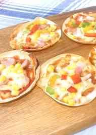 餃子 の 皮 ピザ オーブン