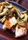 かんたん鮭の味噌マヨ焼き