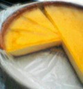 オレンジのゼリー&ムースタルト