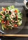 彩鮮やか♪3種の豆の高たんぱくサラダ