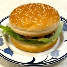 腎臓内科医考案減塩醤油糀ハンバーガー