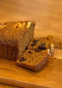 黒糖とシナモン香るにんじんケーキ