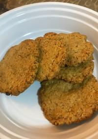 大豆粉のクッキー 卵不使用