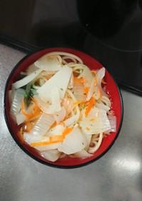 休校レシピ 11 春野菜のスープパスタ