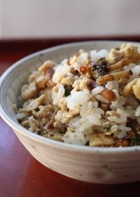 美味♪土筆サッと煮で混ぜご飯(もぶり飯)