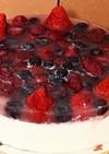 低糖低脂肪ヘルシーヨーグルトベリーケーキ