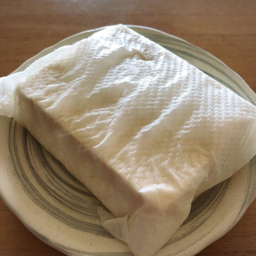 ☼簡単♪レンチンだけ♪豆腐の水切り