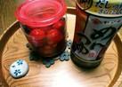 ミニトマトのめんつゆ漬け(^q^)☺⛄☕