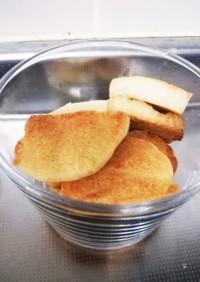 魚焼きグリルでバタークッキー☆【備忘録】