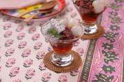 ドラゴンフルーツと紅茶ゼリーチェーの写真