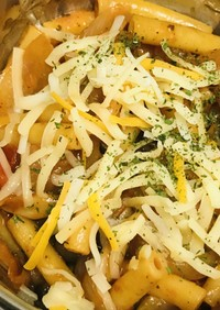 丼弁当●マカロニ・ナポリタン(チーズ版)