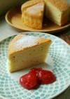 米粉スイーツの基本スポンジケーキ