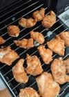 揚げない 唐揚げ 簡単 鶏むね きな粉
