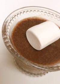 3つの材料で簡単チョコムース!