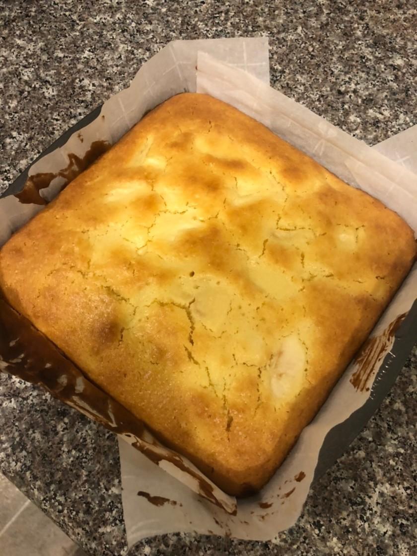 ホットケーキミックス de りんごケーキ