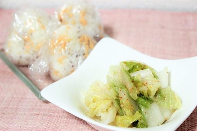 【副菜レシピ】ポリ袋で簡単!白菜の漬け物