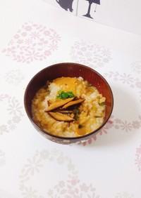 生米から作る中華粥