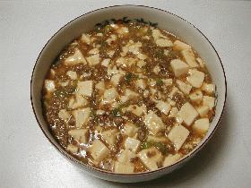 本格派 麻婆豆腐