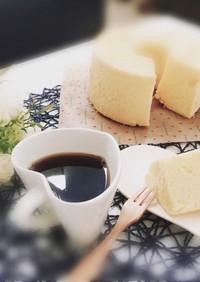 簡単♡美味しい米粉シフォンケーキ
