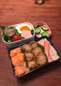 お弁当44・なんちゃって北海道フェアご飯